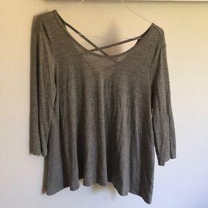 Lush quarter sleeved shirt